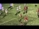 Quick Thinking Rugby Player Makes It Hard To Keep Your Eye On The Ball