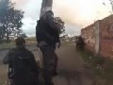 Rio De Janeiro's Police Ambush Fleeing Drug Dealers