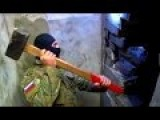 Russian Special Police In Action - Badass Sledgehammer Guy