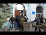 Right Sector Fascist Lustration Of Dneipertrovsk City Councilor They Believe Is Affiliated With The Party Of Regions
