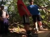 Rope Swing Fail