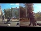 Russian Driver Runs Over Woman On Crossing Then Tries To Put Her In His Car?