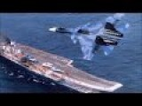 Russian Naval Strike Group Led By Aircraft Carrier Admiral Kuznetsov In Action In The Mediterranean Sea To Kick ISIS Ass