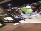 Riot And Beating At Kroger Store Poplar Highland Township, MI