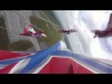 Russian Air Force MiG 29 Display Team Swifts Puts On Show Of Strength With Amazing Aerial Stunts