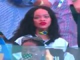 Rihanna At 2014 FIFA World Cup Brazil Final - Germany Vs Argentina 1-0