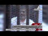 Raw: Ousted Egyptian President Defiant In Court