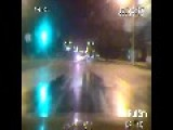 Russian Police Dash Cam - High Speed Chase