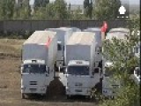 Red Cross Reveals Some Progress On Russian Aid Convoy's Voyage Into Ukraine