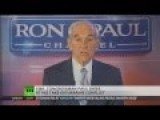 Ron Paul: US Shouldn't Meddle In Ukraine