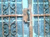 Rusty Metal YS #2 Gantry Crane , Wrought Iron Door , Wrough Iron Hand Rail