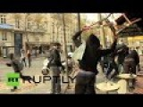 RAW: Clashes In Paris