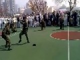 Russian Marines Vs Chinese Marines KungFu Demo