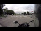 Rider Gets Rear Ended By A Car, Blasted Into The Air!