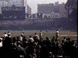 Rare Footage Of The 1939 Baseball World Series Between The Yankees And The Reds In Color