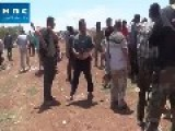 Rebel Footage Of Liberated Khan Sheikhoun - Captured BMP, Shilka, T72 And AA Hardware