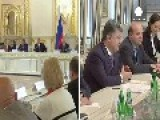 Russia-Ukraine Cool-down In Milan, Still Tense On Border