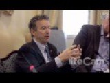 Rand Paul To Faith Leaders - 1st Amendment Doesn't Say Keep Religion Out Of Gov't