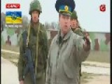 Russian Troops Fire Warning Shots At Ukrainian Soldiers