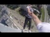 Russian Daredevil's Death Defying Stunt