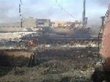 Ramadi: Destroyed Tank And Armored Vehicle Pictures 8.4.2014