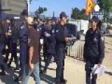 Refugees Refuse To Budge From Makeshift Idomeni Border Camp In Greece