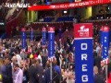 Republican Convention Day 1: Security, Melania And Marines
