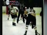 Rhode Island Hockey Player Gets Lit Up 30 SEC