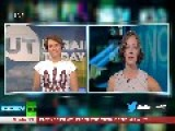 Russia Today Gets Trolled LIVE By Crazy-eyed Lady
