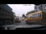 Russian Dangerous Car Crashes