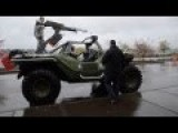 Real Life Halo Warthog Visits Joint Base Lewis McChord
