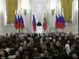 Russia President Putin's Speech Aug 14 2014
