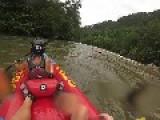 Rafters Flip In Water