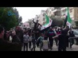 Residents Of The Syrian City Of Homs Cheer Rebel Advances In Idlib, Deraa