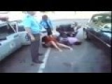 Russia Totally Drunk Woman Fight With Police Hard Work Of Corps