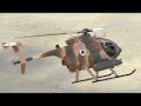 Ride Along For Strafing Practice In Afghanistan's Spunky Little MD530 Attack Chopper