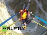 Russia: Don't Look Down! World's HIGHEST Swing Hits Sochi