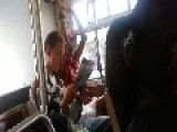 Rapping Tranny Satan Riding On Bus