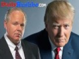 Rush Limbaugh: I Never Took Trump Seriously