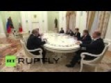 Russia: Serbian Pres. Nikolic Thanks Putin For Russian Effort Against IS
