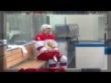RAW: Putin Hits The Ice In Sochi Ahead Of Orthodox Christmas Day