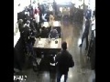Russian Guy Gives A Crap About A Huge Restaurant Brawl