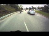 R1 Super Bike Motorcycle CRASH!