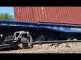 Russian Train Attacked! Tracks Blown Up, Derailing 14 Freight Cars Near Donetsk! A Dahboo7 Vid