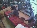Robber Continues To Snatch Jewels Through Gunfight