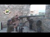 Recoiless Gun Spg-9 Hits Assadist Position
