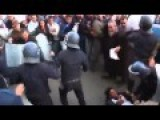Riot Police Clash With Anti-Hebdo Protesters In Algiers