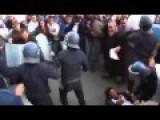Riot Police Clash With Anti-Hebdo Protesters In Algiers