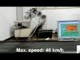 Robot Dinosaur Legs Runs 46 Km H