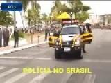 Russia Vs Brazil Police